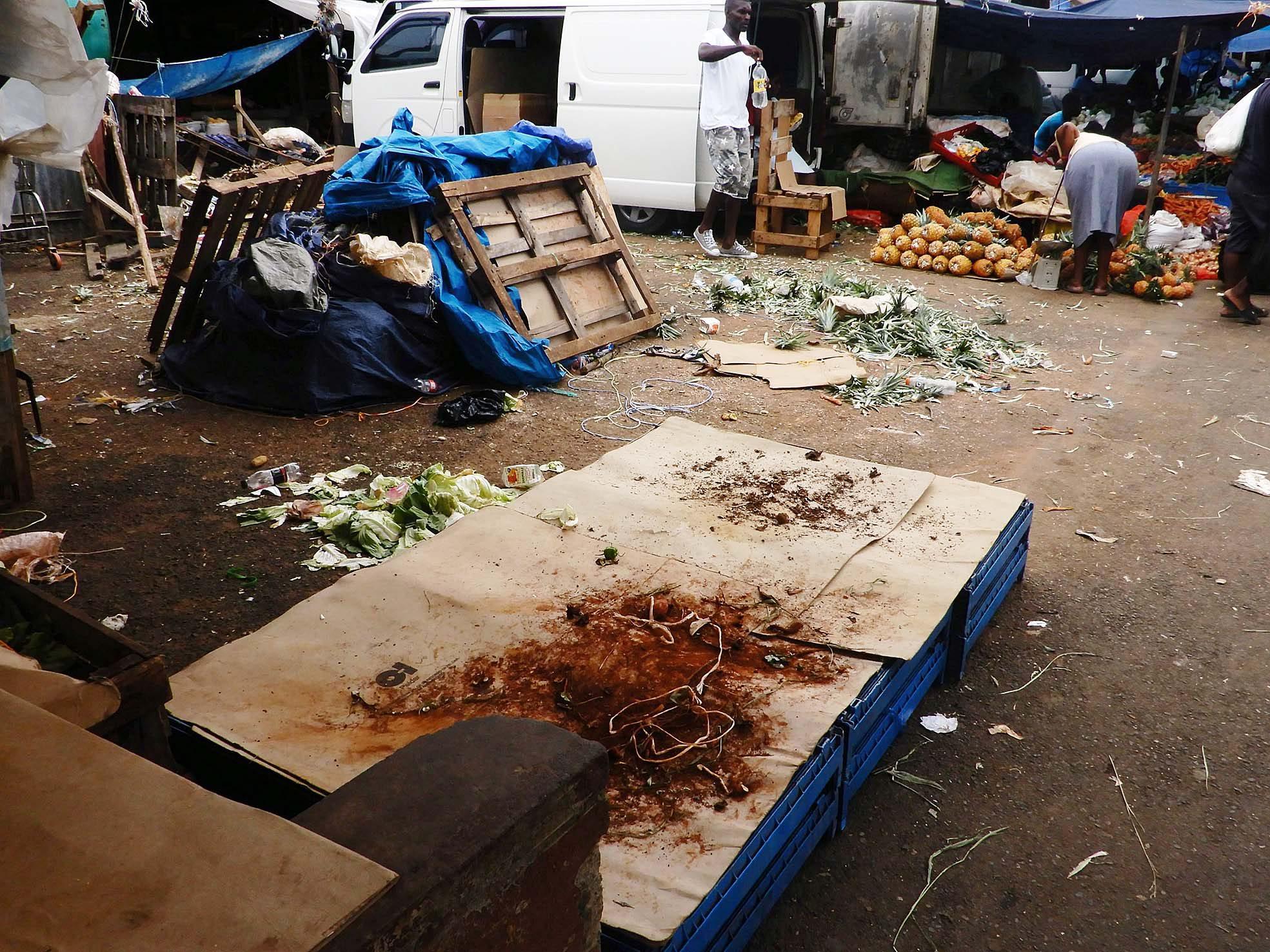 Latest killings leave market vendors fearful