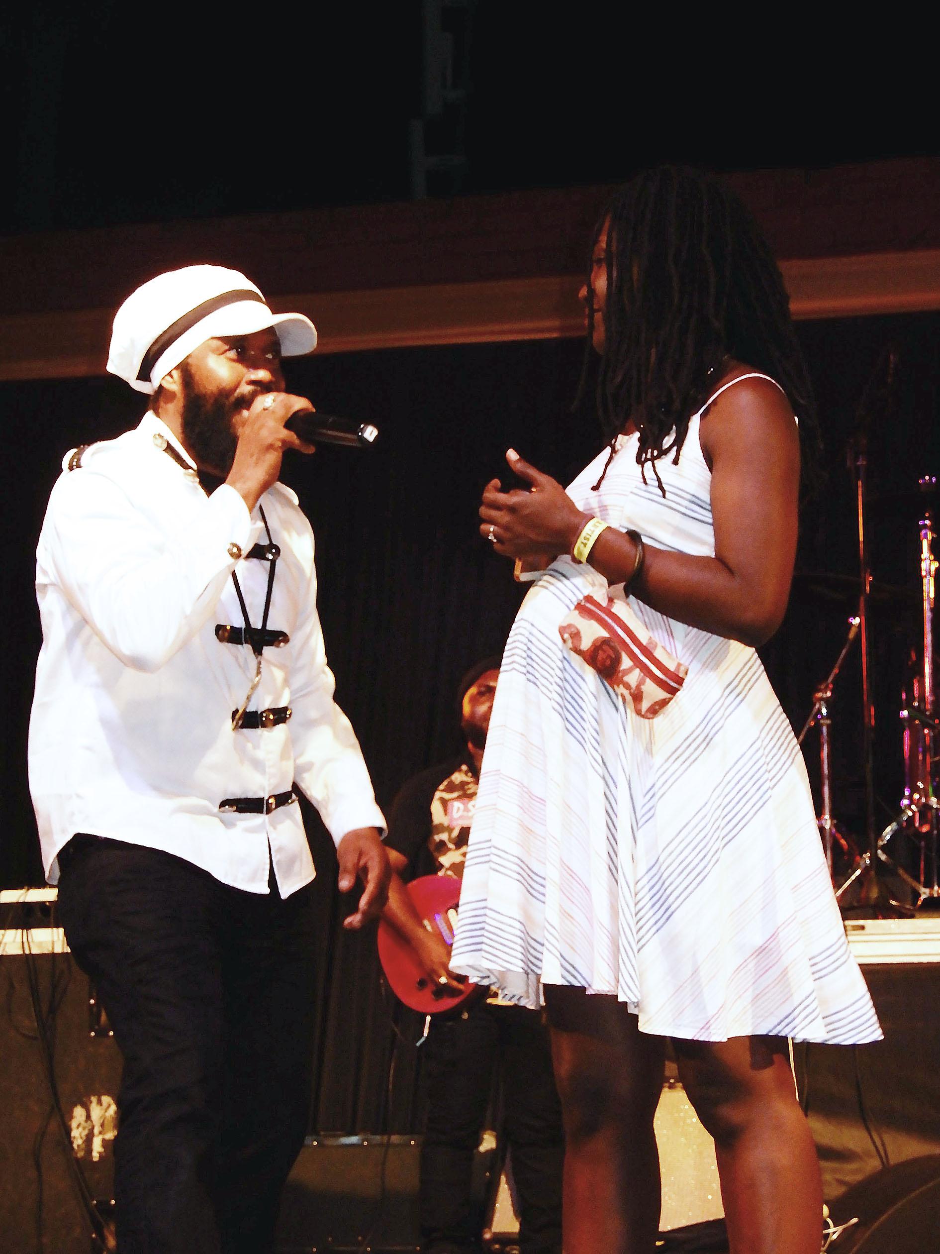 bushman reggae musician