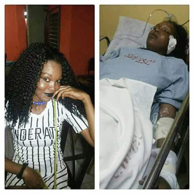 Single mother hurt in Trinidad crash - Injured on the first day of job