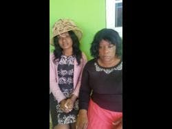 Ramona Wilson-Brown and her mother Murine mourn the loss of Romel.