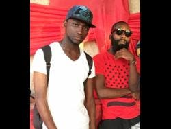 New Day Music Group producers Kemoy Lawrence (left) and Andre 'Drizzle' McEachron.