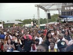 Patrons were locked into the performances at Reggae Sumfest last year.