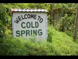 Welcome to Cold Spring.