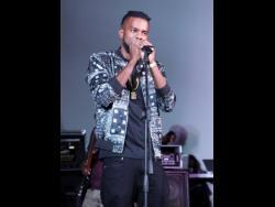 Esco Da Shocker performing at Jamaica Live.