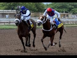 She's A Maneater (left) with Omar Walker aboard.