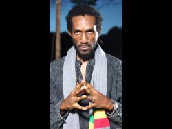 Reggae singer Ras Bogle.