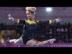 Gymnast Danusia Francis