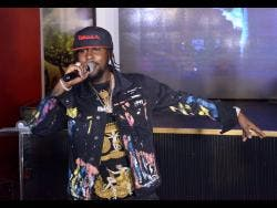 File photos Popcaan says he had dreams of staging Unruly Fest long before he got rich.