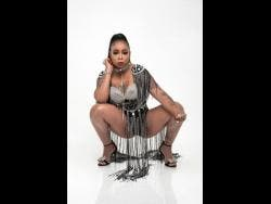 Dancehall artiste Lisa Hyper says she's not focused on competition.