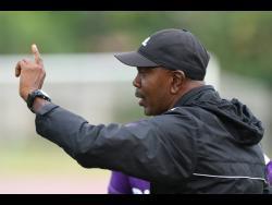 Harbour View FC's interim head coach Ludlow Bernard.