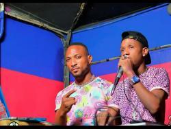 Raevaz (left) and DJ Tom