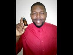 Cornette Hylton is convinced that his mineral solution can treat COVID-19 symptoms.