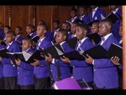 Kingston College Chapel Choir.