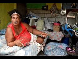 Frog City resident Yvette Spencer said she has been unable to walk since she was injected with pain medication in December.