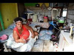 Yvette Spencer at her home in Frog City, Maxfield Park, St Andrew on Janary 11.