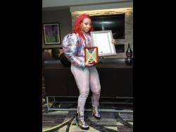 Macka Diamond has been honoured in the US city of Cincinnati last Friday for her contribution to reggae music.