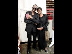 Bounty Killer and his mother Ivy 'Miss Ivy' Williams in 2010.