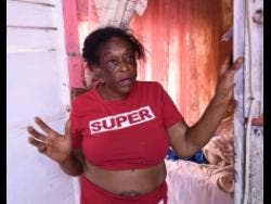 Sharon Hunt, a resident of NCB Lane, Annotto Bay, St Mary, said part of her roof was blown off during the passage of Tropical Storm Grace on Tuesday.