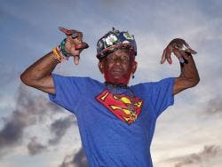 Lee 'Scratch' Perry as photographed by Frank Spinelli.
