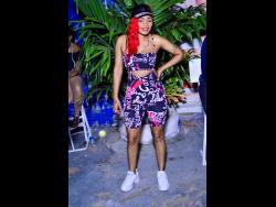 Dancehall artiste Sasique strikes a pose.