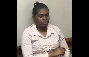 Peta-gay Ffrench, the woman accused of stealing a baby at Victoria Jubilee Hospital in Kingston on January 9.
