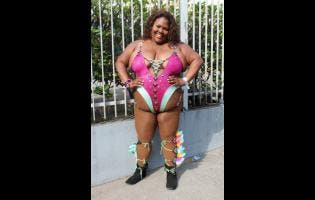 Nadelle Lewis' carnival outfit last year attracted a flurry of negative comments.