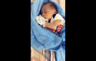 Five- week-old Nyyear Frank.