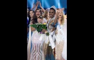 Zozibini Tunzi, Miss South Africa 2019, is crowned Miss Universe at the conclusion of the pageant at Tyler Perry Studios in Atlanta, Georgia, on December 8. The new winner will move to New York City, where she will live during her reign and become a spokesperson for various causes alongside the Miss Universe Organization.