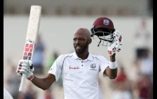 West Indies' Roston Chase