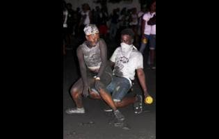 Patrons enjoy themselves at last year's Ash J'ouvert.