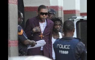 Incarcerated dancehall artiste Vybz Kartel.