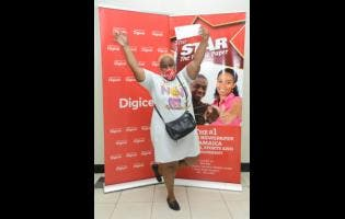 Trudie-Ann Nooks won back-to-school shopping vouchers, courtesy of Digicel and THE STAR.