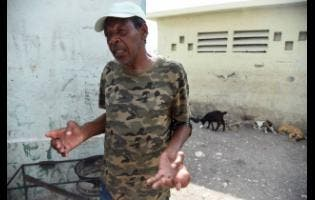 Kenneth Francis says his medical condition prevents him from  gaining employment.
