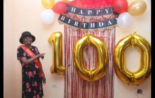 Miriam 'Mama P' Pusey celebrated her 100th birthday on Sunday.