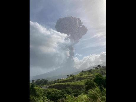Caribbean island orders evacuations after volcano warning