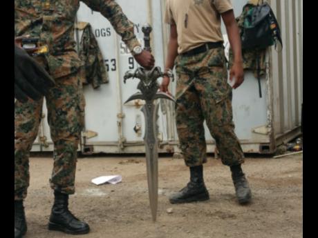 Mystery sword seized by Jamaica Customs | News | Jamaica Star