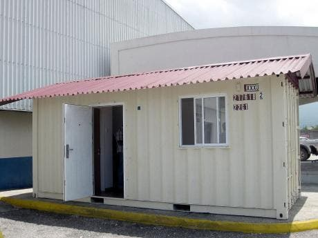 Company Turns Containers Into Homes News Jamaica Star