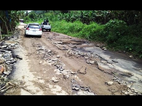 HOPE for rural roads ... Seaman's Valley to get relief ...