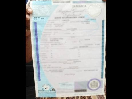 18 year wait for birth certificate news jamaica star yadclub Images