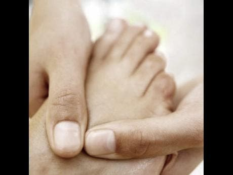 Jamacian feet fetish