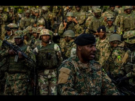 James Western Star >> Soldiers to stay in MoBay permanently | News | Jamaica Star