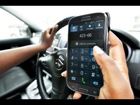Are Cell phone while driving