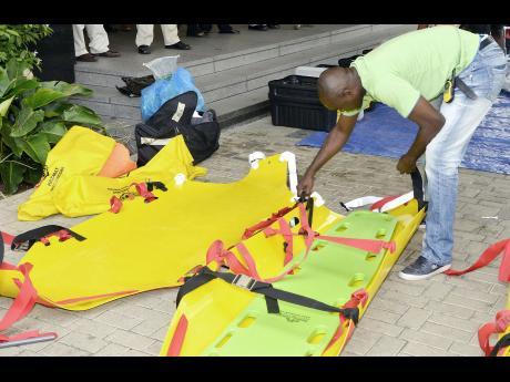 Us embassy assists jamaica fire brigade news jamaica star for Consul training