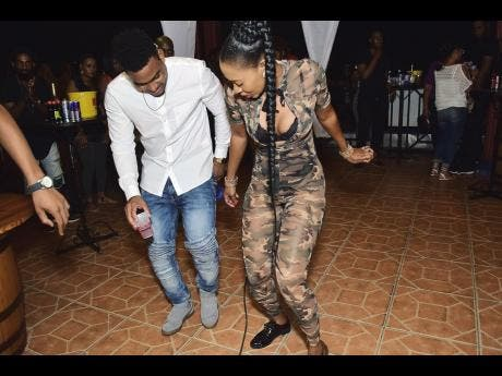 Jamaica dance party