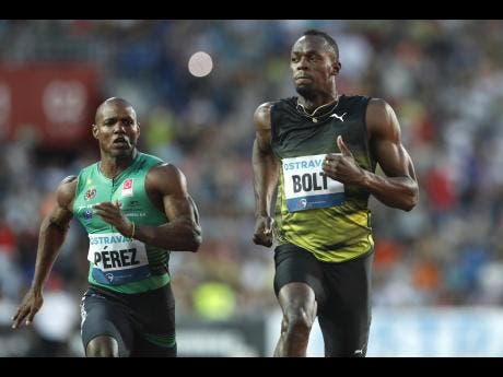 Usain Bolt wins 100-meters at Golden Spike