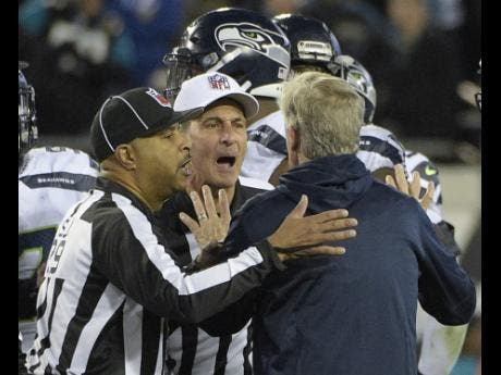 National Football League hands down fines after wild Seahawks-Jagaurs finish