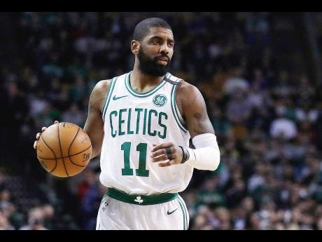 Kyrie Irving tells fans he plans to re-sign with Boston
