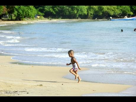 weekend escape unwinding at lyssons beach news jamaica star