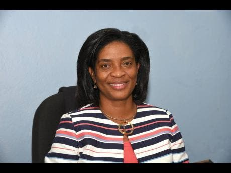 Principal of the Trench Town Polytechnic College, Dr Dosseth Edwards-Watson.