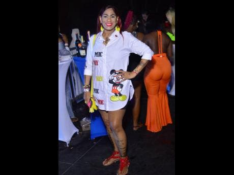 Anthony Minott photos Ava flaunts her beauty in this Mickey Mouse-inspired outfit.